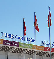 Tunis Airport outside view